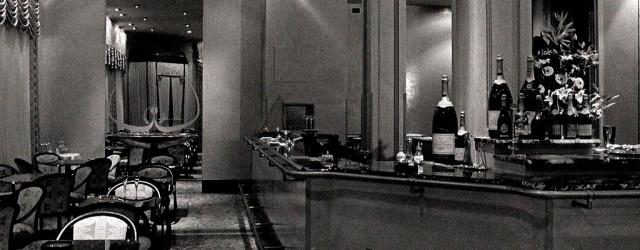 Progetto di un locale per aperitivi e dopo teatro in via Clerici a Milano