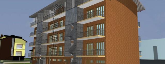 Intervento di nuova costruzione di una palazzina residenziale a Garbagnate Milanese (MI)