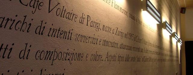 Progetto della caffetteria della biblioteca comunale a Cesate (MI)