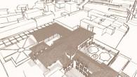 Piano di recupero urbano misto pubblico e privato nel centro di Gerenzano (VA) con la ristrutturazione di una corte privata, l'ampliamento del municipio e la realizzazione della farmacia comunale