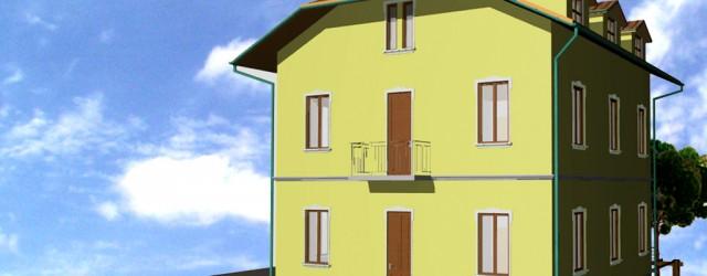 Intervento di ristrutturazione edilizia di una palazzina residenziale in disuso in viale Forlanini a Garbagnate Milanese (MI)