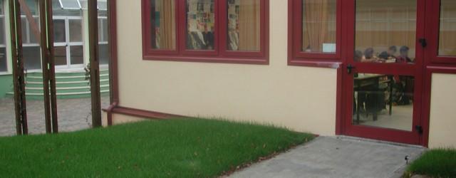Intervento di ampliamento di una scuola media a Buccinasco (MI)