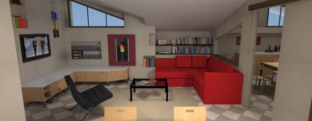 Opere interne e arredamento di un appartamento a Caronno Pertusella (VA)